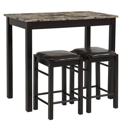 Best Choice Products 3PC Dining Set