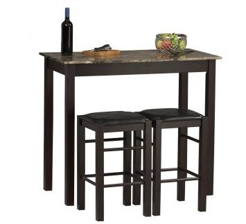 Linon 3-Piece Table Set-Kitchen Table Sets in 2016