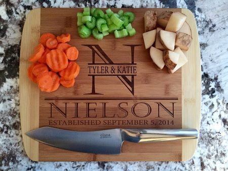 American Laser Crafts Personalized Cutting Board (Nielson Style)