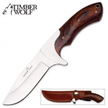 10. Timber Wolf Bowie Knife