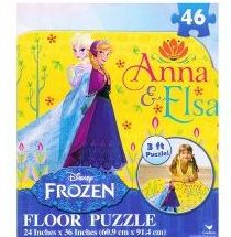 2. Disney 46-Piece Frozen Puzzle