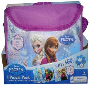7. Frozen Carry and Go 48-Piece Puzzle
