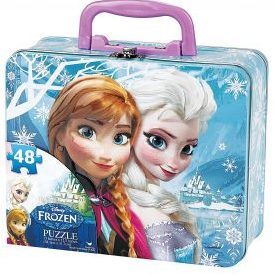 8. Disney 48-Piece Frozen Puzzle