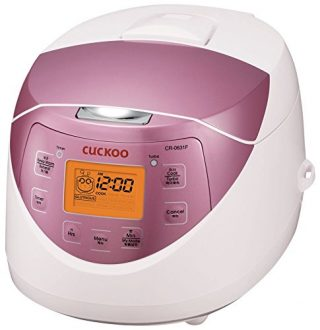 1. Cuckoo CR-0631F Rice Cooker-Best Cuckoo Rice Cookers In 2017