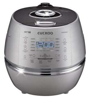 2. Cuckoo CRP-DHSR0609F Rice Cooker
