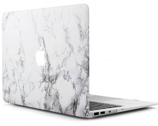iDOO MacBook Air 13 Hard Case (White Marble)-Best MacBook Air Cases & Covers In 2017
