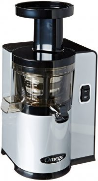 3. Omega VERT Slow Juicer VSJ843QS, Square Version, Silver